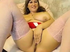Fat And Busty Cam Slut Teasing