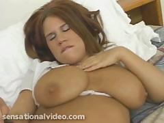Big titty Alyssa West gives..