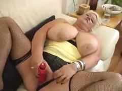 BBW blonde Nicole is giving..