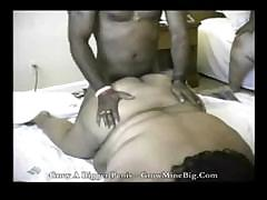 Huge black women get him..