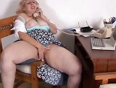 Mature BBW fly down on sex