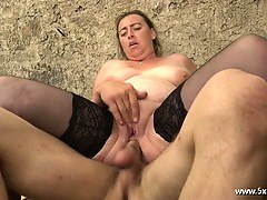 Karine deepthroated hard by..