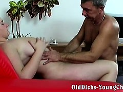 Grandpa loves naive broad in..
