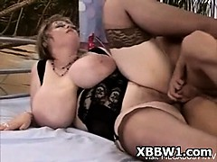 Voluptuous Beamy Ass BBW..