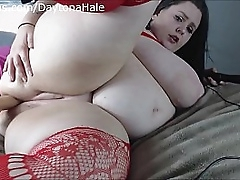 BBW Takes Fat Cock Up..