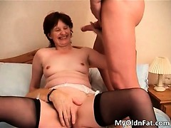 Brunette MILF slut with sexy..